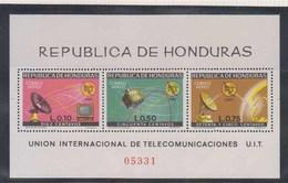HONDURAS      1968      BF  N°   11           COTE     17  € 50 - Honduras