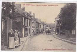 Orne - Les Aspres - Carrefour St-Martin Et Place De L'Eglise - France