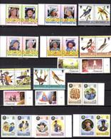 1985-87    Montserrat  1985-87, Entre Yv. 569 Et 656**, Cote 115 €, - Montserrat