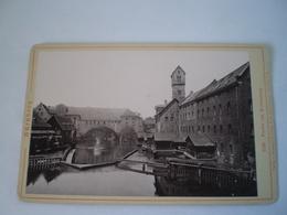 Photo (Kabinet?) Deutschland - Nürnberg // Partie Am Kettensteg Ca 1896 Ca 15 X 9.5 CM - Foto's