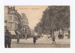 Périgueux. Boulevards. Commerces, Enfants, Voitures à Chevaux...(2896) - Périgueux