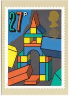 Building Bricks  - Games And Toys  (27p Stamp) -  1989 - (U.K.) - Postzegels (afbeeldingen)