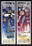 GB ISLE OF MAN IOM - 1991 EUROPA SET (4V) FINE MNH ** SG 474a, 476a - Europa-CEPT
