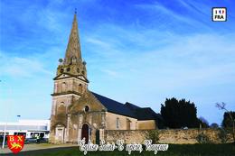 Carte Postale, églises, Churches In France, Calvados, Bayeux, Église Saint-Exupère 1 - Eglises Et Cathédrales