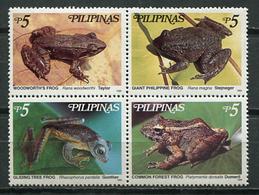 Philippines 1999 Filipinas / Amphibians Frogs MNH Ranas Frösche / Cu8212  36 - Ranas