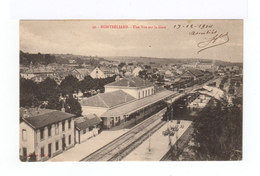 Montbéliard. Une Vue Sur La Gare Et Les Voies. (2898) - Gares - Sans Trains