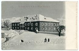 MONTENEGRO : LE PALAIS DE S.A.R. LE PRINCE NICOLAS I. / ADDRESS - DORRINGTON VICARAGE, SHREWSBURY - Montenegro