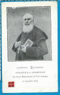 Relic   Reliiquia    Cardinal   Lavigerie - Images Religieuses