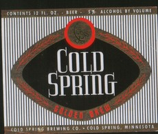 Cold Spring Golden Brew, Minnesota (U.S.A.), Beer Label From 60`s. - Bière