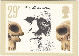 'Prehistoric Skulls' - Charles Darwin  (29p Stamp) -  1982 - (U.K.) - Postzegels (afbeeldingen)