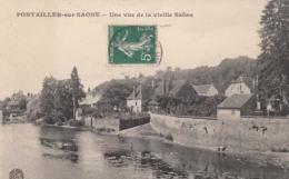 D21 - Pontailler Sur Saone - Une Vue De La Vieille Saône  : Achat Immédiat - Autres Communes