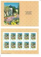Collector 10 Timbramoi Saint Jean De Maurienne, Tour De L'Europe Et Massif De Fleurs - Personalized Stamps (MonTimbraMoi)