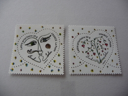 TIMBRES  DE  FRANCE    ANNEE  2008   N  4128 / 4129    NEUFS  SANS  CHARNIERES - Unused Stamps