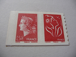 TIMBRES  DE  FRANCE    ANNEE  2007   N  4109  PAIRE   NEUFS  SANS  CHARNIERES - Unused Stamps