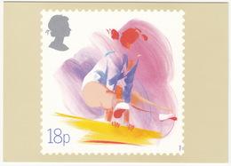'Gymnastics' - Sport  (18p Stamp) -  1988 - (U.K.) - Postzegels (afbeeldingen)