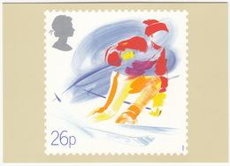 'Skiing' - Sport  (26p Stamp) -  1988 - (U.K.) - Postzegels (afbeeldingen)