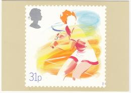 'Lawn Tennis' - Sport  (31p Stamp) -  1988 - (U.K.) - Postzegels (afbeeldingen)