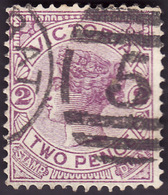 Etat De VICTORIA  1884-86  -  YT   92 Violet   - Oblitéré - Oblitérés