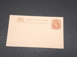 INDE - Entier Postal Non Circulé - L 17504 - 1902-11 King Edward VII