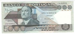 Portugal - 5000 Escudos (5000$00) 1981 - AUNC / Presque NEUF - Portugal