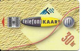 TÉLÉCARTE PHONECARD ESTONIE  30 KR 1995 - Estonia