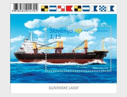 Slovenië / Slovenia - Postfris / MNH - Sheet Schepen 2018 - Slovenië