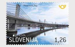 Slovenië / Slovenia - Postfris / MNH - Complete Set Europa, Bruggen 2018 - Slovenië