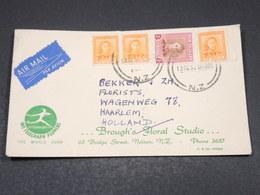 NOUVELLE ZÉLANDE - Enveloppe Commerciale Pour Les Pays Bas En 1952  - L 17512 - Nouvelle-Zélande