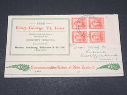 NOUVELLE ZÉLANDE - Enveloppe Commémorative De Warkworth Pour La Suisse En 1936 - L 17514 - 1907-1947 Dominion
