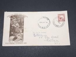 NOUVELLE ZÉLANDE - Enveloppe Illustrée De Wellington En 1935 - L 17515 - 1907-1947 Dominion