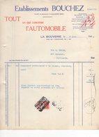 Jen. Etablissements Bouchez. Société De Personnes à Responsabilité Limitée. La Bouverie Le 09/06/1948. - 1900 – 1949