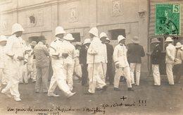 Carte Photo.Un Jour De Course A L'hippodrome D'Aaiphong.1907 - Cartes Postales