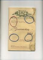 HEIDE - Kalmthout : Diesterwegs Hulpkas 1954 // Jaarverslag  84 Pagina ( Zie Scans Voor Detail )vele Foto's - 23 X 14 Cm - Libros, Revistas, Cómics