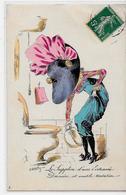 CPA ROBERTY Style Sager Circulé Art Nouveau Sans Numéro Ni éditeur Mode Chapeau érotisme Pot De Chambre - Robert