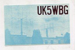 QSL CARD - AK 324445 USSR - Ukraine - Lvov - Radio Amateur