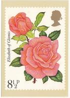 'Elizabeth Of Glamis' - Rose  (8,5p Stamp) -  1979 - (U.K.) - Postzegels (afbeeldingen)