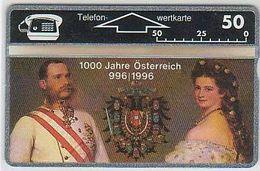 Austria P166 1000 Jahre Österreich - Kaiserpaar - 307L - Voll - Mint - Oesterreich