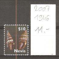 Nevis, 2007, Coquillage - St.Kitts-et-Nevis ( 1983-...)