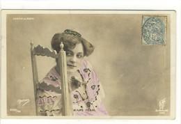 Carte Postale Ancienne Artiste Mars Pearl - Casino De Paris. Photographie Ogerau - Artisti