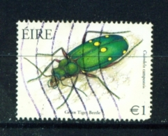 IRELAND  -  2003  Beetles  1 Euro  Used As Scan - 1949-... Republic Of Ireland