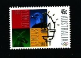 AUSTRALIA - 1996  PASSING OF OLYMPIC FLAG TO SYDNEY  MINT NH - Nuovi