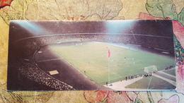 GEORGIA. TBILISI. CENTRAL STADIUM - STADE. Long Format  Old USSR Postcard - Stadien