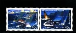AUSTRALIA - 1994  SYDNEY TO HOBART YACHT RACE PAIR MINT NH - Nuovi
