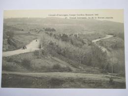 COUPE GORDON BENETT 1905 -  N° 17  GRAND TOURNANT  , VU DE  LA ROCHE PERCEE      TRES  ANIME     TTB - Sonstige Gemeinden