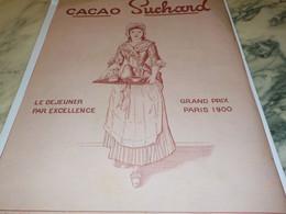 ANCIENNE PUBLICITE CACAO   SUCHARD 1912 - Affiches