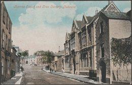 Barras Street And Free Library, Liskeard, Cornwall, C.1905-10 - Botterell's Series Postcard - England