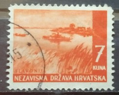 LANDSCAPES-SLAVONIJA-7 K-ERROR 7-NDH-CROATIA-1941 - Croatia
