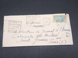 CÔTE D'IVOIRE - Enveloppe De Bobo-Dioulasso Pour Paris En 1934 - L 17539 - Côte-d'Ivoire (1892-1944)