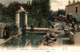 ANGOULÊME  L ANGUIENNE  VUE PRISE DU PONT DE VARS - Angouleme