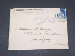 SUISSE - Enveloppe Pour La France En 1916 Avec Contrôle Postal - L 17542 - Cartas